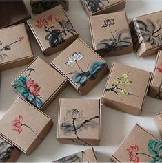 Cajitas de carton para vender para jabon, Chocolates o dulces
