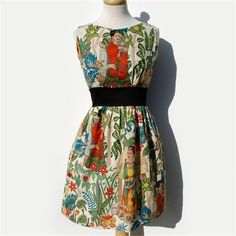 dress frida khalo