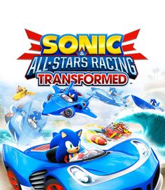 Sonic and All-Stars Racing Transformed Bonus Edition - Nintendo Wii U Sega Wii U Games, Xbox 360 Games, Pc Games, Board Games, All Star, Playstation, Hot Wheels, Microsoft, Shopping
