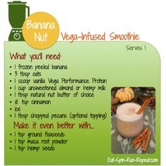 4 plant-powered, nutrition-packed, crazy delicious smoothies for fall