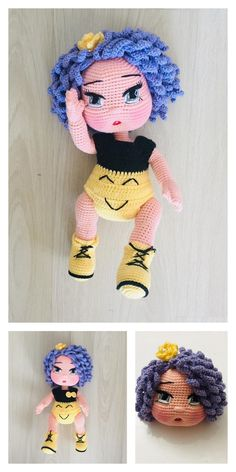 In this article I will share the amigurumi doll lilyum baby free crochet pattern. You can find everything you want about Amigurumi. Crochet Doll Pattern, Crochet Patterns Amigurumi, Amigurumi Doll, Crochet Dolls, Crochet Hats, Crochet Baby Shoes, Doll Tutorial, Stuffed Toys Patterns, Beautiful Crochet