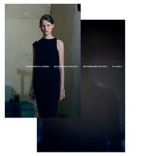 Earring, Bracelets: MAISON MARGIELA Dress: ANN DEMEULEMEESTER Candles: PARTS OF FOUR