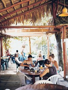 The beachside Bruno Restaurant in Las Terrenas.   Punta Cana, DOMINICAN REPUBLIC