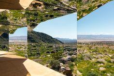 Casa coberto de espelhos age como caleidoscópio gigante.