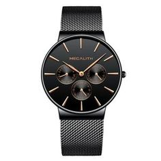 Men's Ultra Thin Mesh Strap Quartz Simple Cheap Watches Simple Cheap Watches Outfit Accessories From Touchy Style Big Watches, Cheap Watches, Sport Watches, Cool Watches, Watches For Men, Luxury Watches, Black Watches, Affordable Watches, Wrist Watches