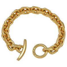 1stdibs - GEORG JENSEN Gold Hans Hansen  Bracelet explore items from 1,700  global dealers at 1stdibs.com