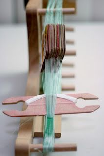 Card Weaving. I don't really understand how this is done, but it is fascinating.