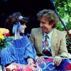 Gilda Radner and Gene Wilder amazing)