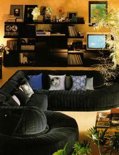 Dream Home Design, House Design, Interior Architecture, Interior And Exterior, Retro Interior Design, Decor Pad, Funky Home Decor, Vintage Interiors, Dream Decor