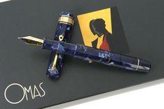 Omas Vintage Paragon Blue Royale Celluloid (current).