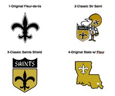 Saints Logo History | The original Saints logo and was used from 1967-1999. From Kilmer ...