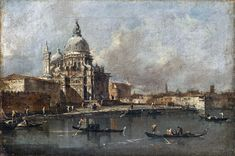 Francesco Guardi - View of the Salute, Venice [1780] | Flickr - Photo Sharing!