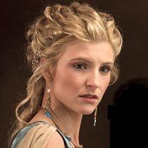 Illythia from Spartacus - gorgeous hair