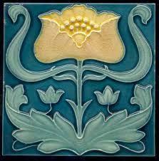 art nouveau tiles ile ilgili görsel sonucu