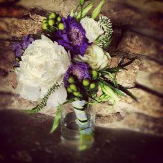 purple and white bouquet Purple Wedding Flowers, Bridesmaid Flowers, White Flowers, Bridesmaids, Bouquet Flowers, Bouquets, Keystone Colorado, Flower Centerpieces, Event Planning