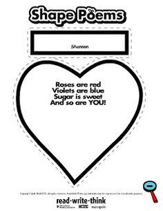 valentine poems for 2nd graders