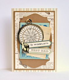 © Anna Griffin, Inc. All Occasion Garlands Homemade Birthday Cards, Birthday Cards For Him, Homemade Cards, Scrapbooking, Scrapbook Cards, Card Tags, Men's Cards, Gift Cards, Boy Cards