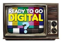 Digital info from Digital television. Analog Signal, Digital Tv, Automotive News, Job Opening, First Step, Learning, Televisions, Spectrum, Evolution
