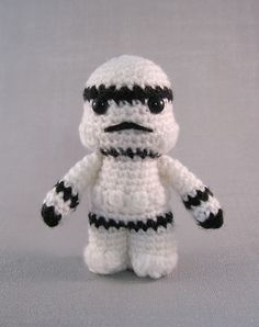 Ravelry: Stormtrooper - Star Wars Mini Amigurumi pattern by Lucy Collin