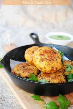 Masala potato cakes. It's like my German heritage and my time in India wrapped into one delicious food. #vegan