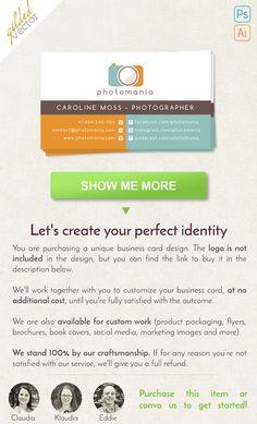 Monat business cards monat custom business card monat global card simple business card photography business card digital template print ready one sided reheart Choice Image