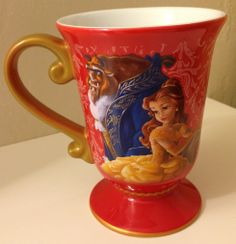 Love this Beauty and the Beast mug from the Disney Store's Fairytale Designer Collection! #beautyandthebeast