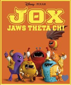 JOX - Monsters University