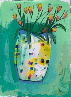 Oil Painting On Paper, Black Vase, Great Paintings, Blue Flowers, Poppies, Sculptures, Bloom, Textiles, Illustrations