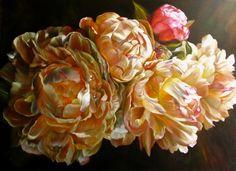 Marcella Kaspar_Golden Orb_SOLD by marcella kaspar on ARTwanted