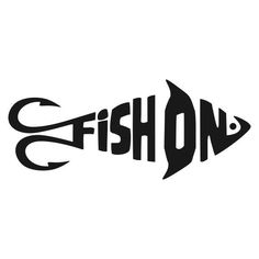 Fish on decal