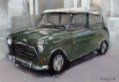 David Lloyd - Artblog5x7 Drawing Pencil and Acrylic on Panel