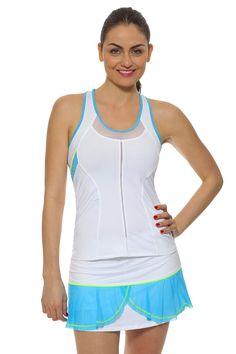 Women's Tennis Clothes l Lucky In Love Flounce Skort : CB46