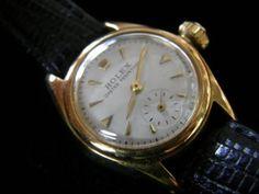 Rolex ロレックスレディース アンティーク18k無垢バブルバック 時計 Watch Antique ¥490000yen 〆05月15日
