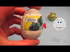 Monsters University Surprise Egg Learn-A-Word! Spelling Outdoor Words! L...