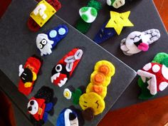 Mario Felt Barrette - you pick. $3.00, via Etsy.
