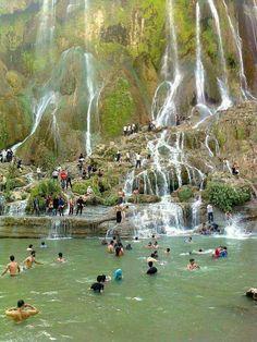Bisheh waterfall, Lorestan province, Iran. #MustSeeIran آبشار بیشه استان لرستان، ايران