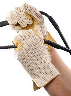 Stylish equestrian glove