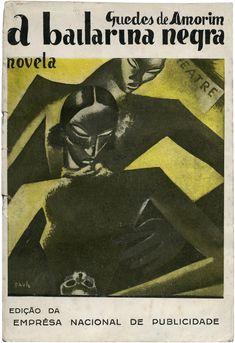 A bailarina negra, Guedes de Amorim, Empresa Nacional de Publicidade, design Paulo Ferreira, 1931