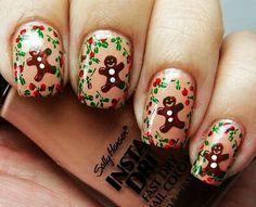 Gingerbread nails