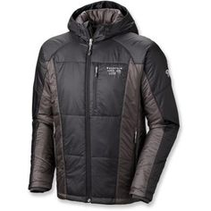 Mountain Hardwear Hooded Compressor Jacket - Men's down jacket idea