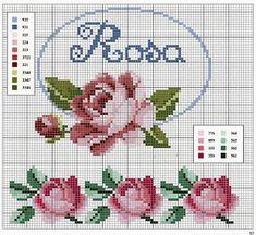 Ely Handmade: Diagrame - crosetat / tricotat / punct în cruce