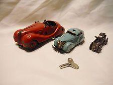 vintage Schuco 2 cars Examico 4001 & 3000