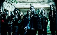 Slipknot Band Members Image Gallery Wallpaper HD Widescreen Desktop Background