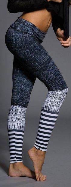 These leggings are dedicated for those who love to workout! From Barre to Pilates these Level Graphic Leggings are truly one of a kind and will support any exercise routine you have in mind. Available