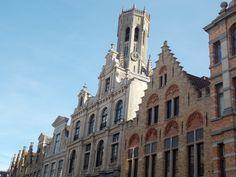Radiante día de sol en Brujas (Bélgica)