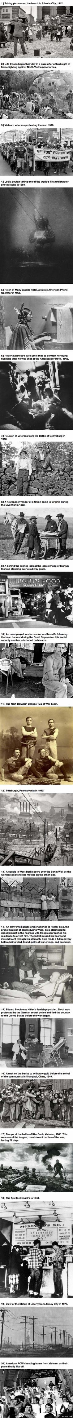 Check Out Some Of These Rare Moments In History... I Had No Idea.