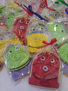Chuggington Cookies for a special boy! Fresh from Shirley Annes Bake Shoppe!