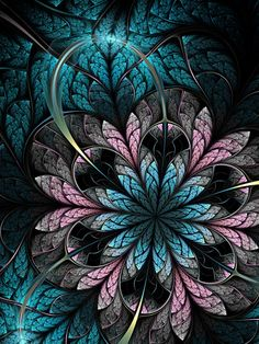 crescentmoon06:    Flower III by =lucid-light