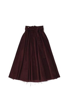 horisaki cord skirt skirt corduroy skirt with adjustable suspenders and belt cotton Corduroy Skirt, Suspenders, Skater Skirt, Egg, Skirts, Wine, Cotton, Collection, Fashion