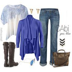 CAbi goes blue    Www.debragrauss.cabionline.com